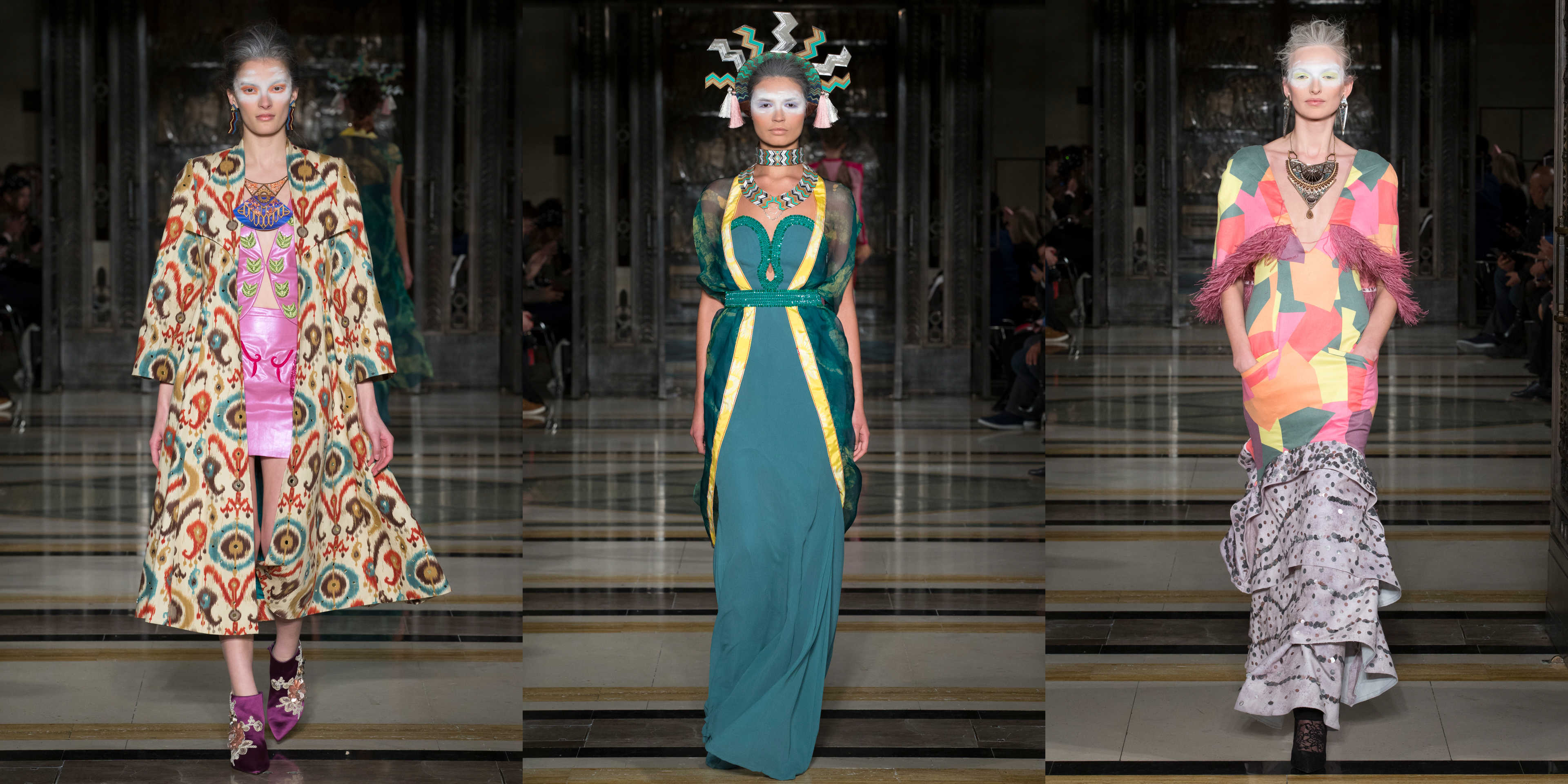 London Fashion Week AW18: Day Two - Yimbiha